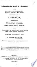 Reformation  the Result of a Knowledge of the Holy Scriptures  being the substance of a sermon  on Neh  viii  8  preached     on the tercentenary of the printing of the entire Bible in the English language  etc Book PDF