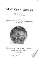 May Cunningham s trial  by the author of  Two fourpenny bits