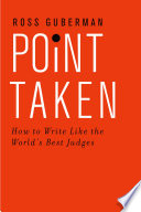 Point Taken Book