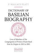 Pdf Dictionary of Basilian Biography Telecharger