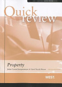 Book Cover: Sum and Substance Quick Review on Property
