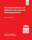 Fundamentals Of Human Resource Management  8Th Ed Book