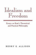 Idealism And Freedom