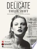 Delicate Sheet Music