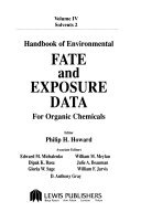 Handbook of Environmental Fate and Exposure Data for Organic Chemicals  Solvents 2