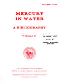 Mercury in Water