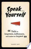 Speak for Yourself Book
