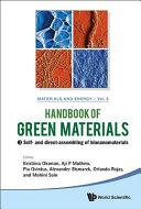 Handbook of Green Materials