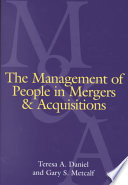 The Management Of People In Mergers And Acquisitions Book PDF