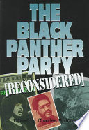 The Black Panther Party  reconsidered  Book PDF