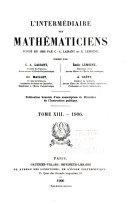 L'Intermédiaire des mathematiciens