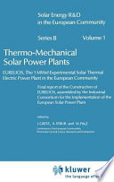 Thermo Mechanical Solar Power Plants
