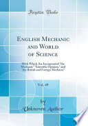 English Mechanic and World of Science, Vol. 49
