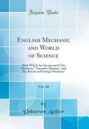 English Mechanic and World of Science  Vol  49
