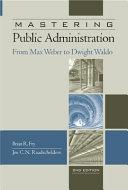 Mastering Public Administration