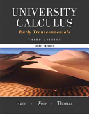 University Calculus  Early Transcendentals  Single Variable Plus Mymathlab    Access Card Package