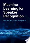 Machine Learning For Speaker Recognition Book PDF