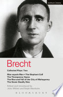 Brecht Collected Plays  2