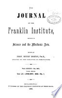 Journal Of The Franklin Institute Book PDF