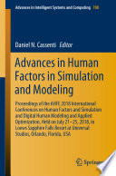 Advances in Human Factors in Simulation and Modeling