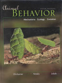 Animal Behavior  Mechanisms  Ecology  Evolution
