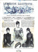 La moda illustrata giornale settimanale illustrato per le famiglie