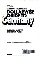 A Dollarwise Guide to Germany