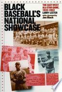 Black Baseball s National Showcase