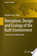 Perception  Design and Ecology of the Built Environment Book