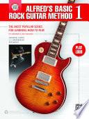 Alfred S Basic Rock Guitar Method 1 Book PDF