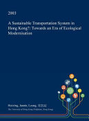 A Sustainable Transportation System in Hong Kong  Book