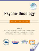 Psycho Oncology Book