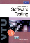 Foundations of Software Testing: For VTU