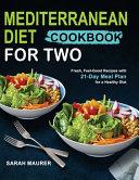 Mediterranean Diet Cookbook for Two