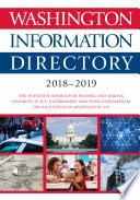 Washington Information Directory 2018 2019