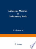 Authigenic Minerals In Sedimentary Rocks Book PDF