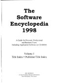 The Software Encyclopedia Book PDF