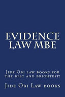 Evidence Law Mbe