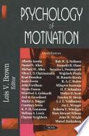 Psychology Of Motivation Book PDF