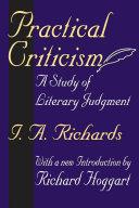 Practical Criticism Pdf/ePub eBook