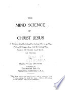 The Mind Science of Christ Jesus