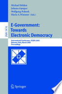 E Government Towards Electronic Democracy