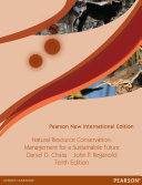 Natural Resource Conservation  Pearson New International Edition Book