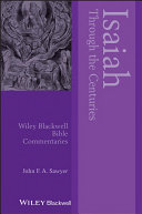 Isaiah Through the Centuries [Pdf/ePub] eBook