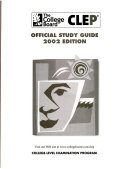 Clep Official Study Guide 2002