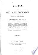Vita di Giovanni Boccaccio