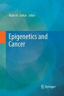 Epigenetics and Cancer Book
