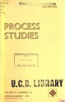 Process Studies Book PDF
