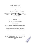 Memoirs of Philip P  Bliss