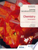 Cambridge International AS   A Level Chemistry Student s Book Second Edition